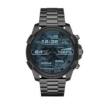 Diesel Reloj Hombre de Digital con Correa en Acero Inoxidable ...