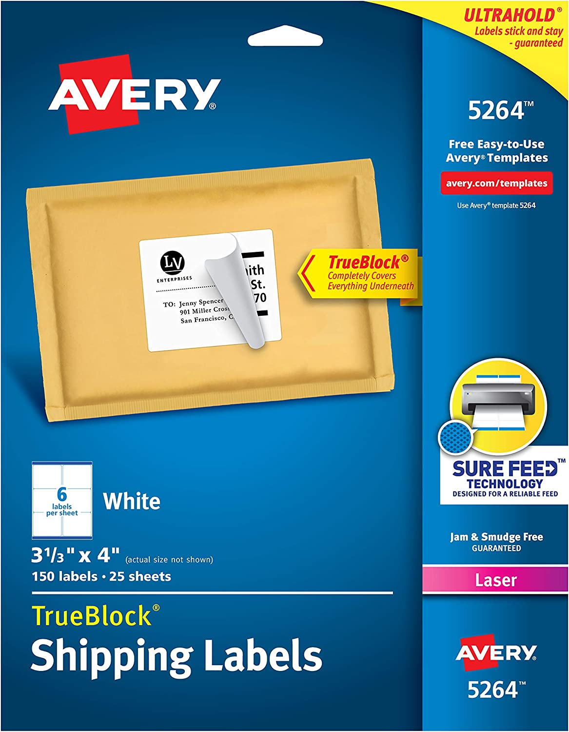 32 Avery Label Template 5264 Labels Database 2020