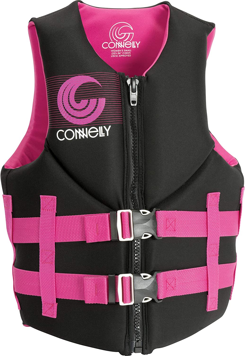 CWB Connelly Women's Promo Neo Vest-Coast Guard Approved, X-Large