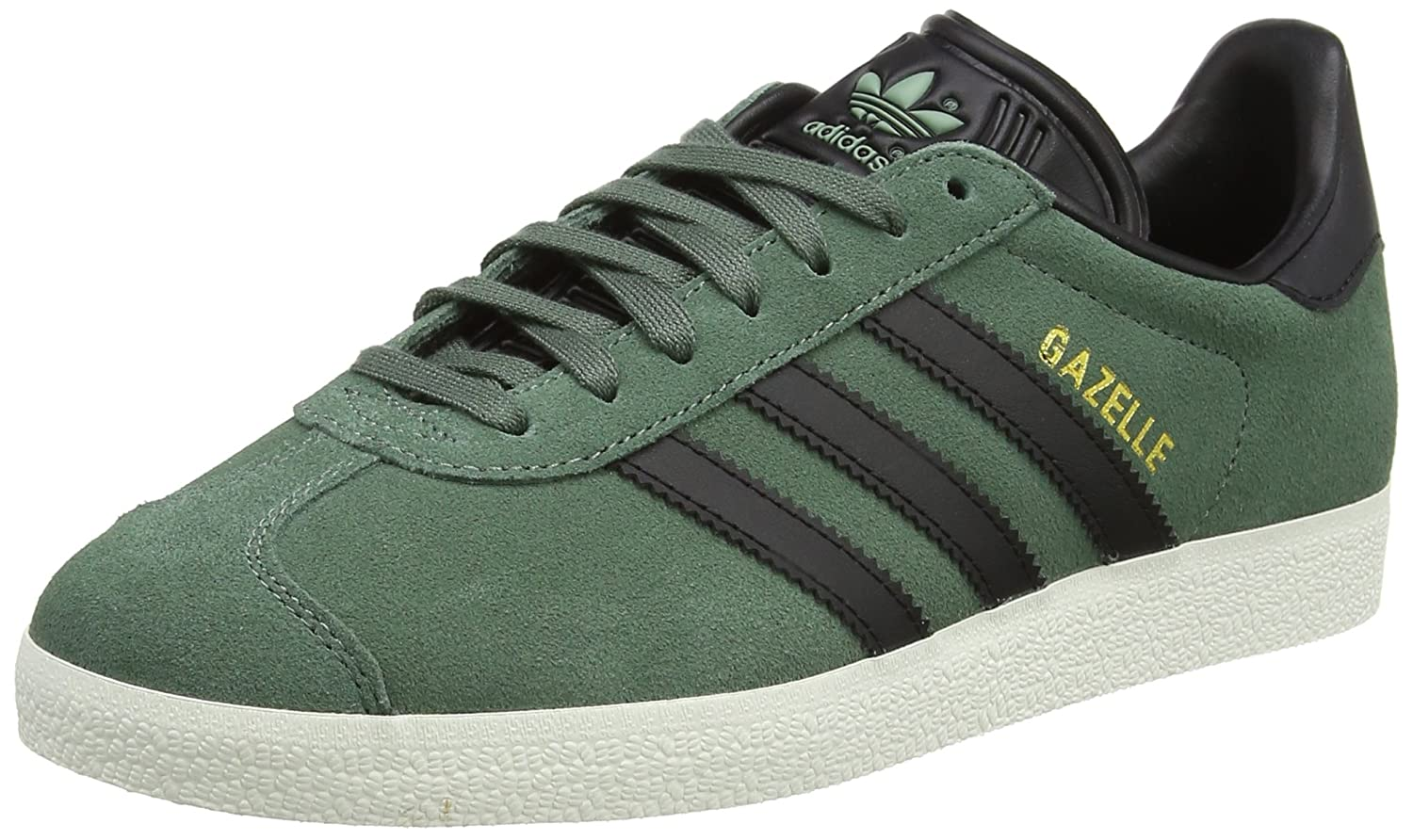 adidas Men's Gazelle Casual Sneakers B076MCTZQ7 9.5 D(M) US|Green
