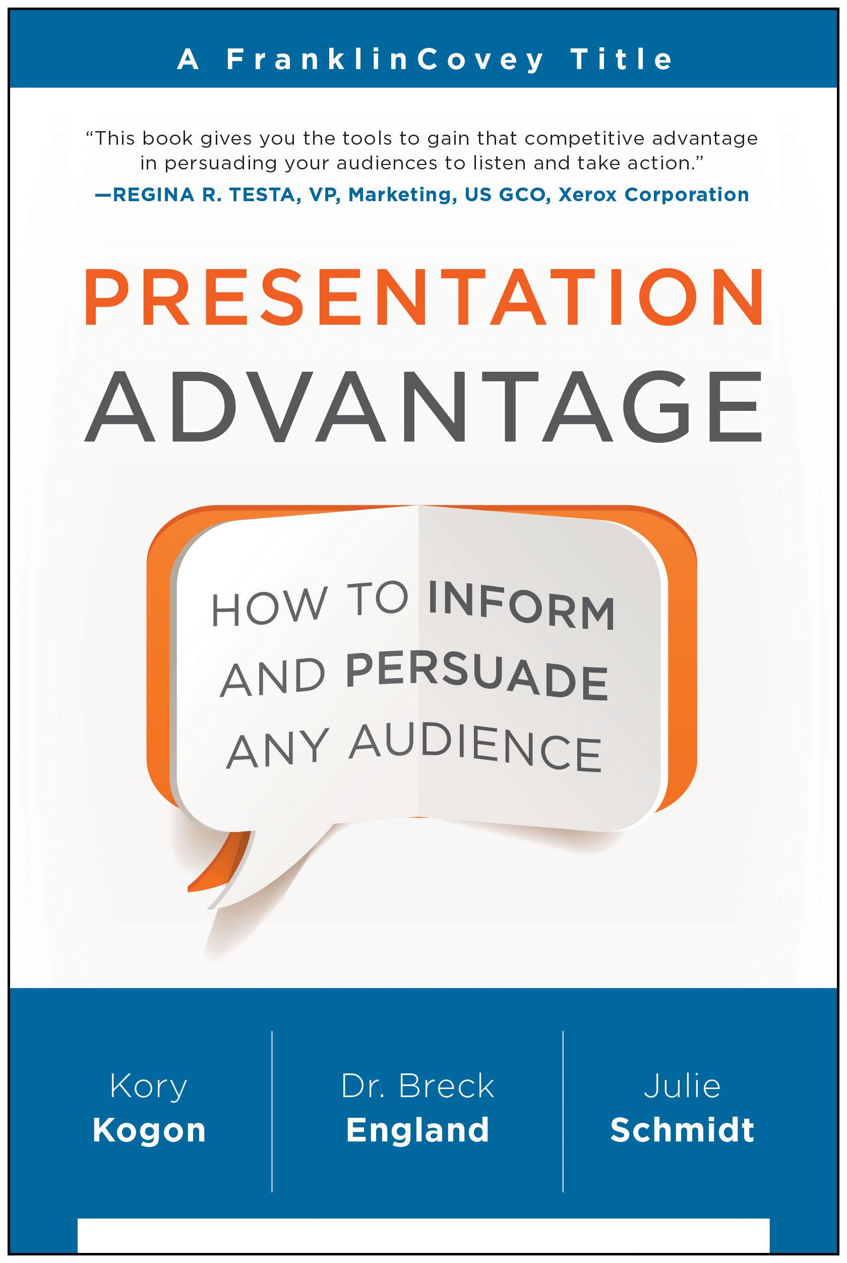 Read Online Presentation Advantage: How to Inform and Persuade Any Audience pdf