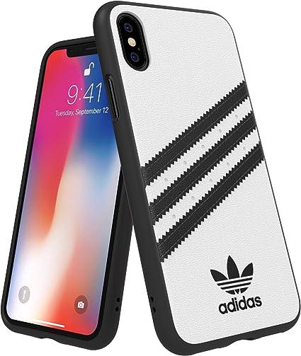 Adidas Originals Coque pour iPhone XXS Molded BlancNoir