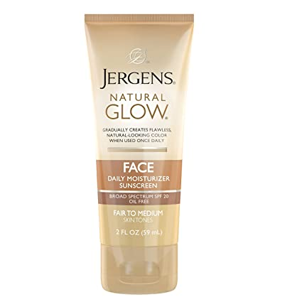Bare bronze daily glow facial moisturizer