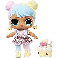 "LOL Surprise Big B.B. (Big Baby) Bon Bon – 11"" Large Doll, UNbox Fashions, Shoes, Accessories, Includes Playset Desk…"