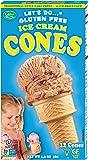 Let's Do Gluten Free Ice Cream Cones, 12-Count Cones (Pack of 12)