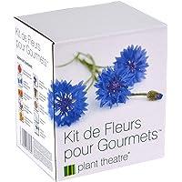 Kit de Fleurs pour Gourmets par Plant Theatre - 6 variétés de fleurs comestibles à cultiver - Idée cadeau
