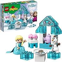 LEGO DUPLO Princess 10920 Elsa and Olaf's Tea Party Building Kit (17 Pieces)