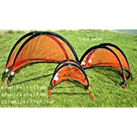 GreEco Set of 2 Pop Up Goals Foldable Gate - Pair of Soccer Goals or FPV Racing Gate Option