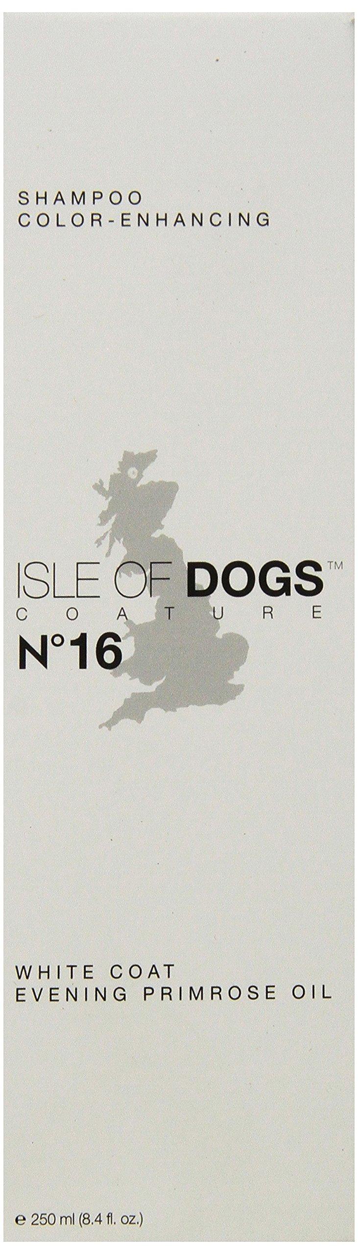 Isle of Dogs Coature No.16 White Coat Evening Primrose Oil Dog Shampoo 8.4 oz.