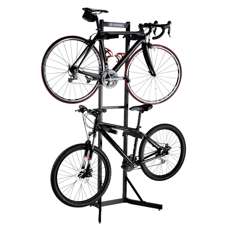 Amazon.com : Nashbar Steel Bike Rack : Indoor Bike Storage : Sports ...