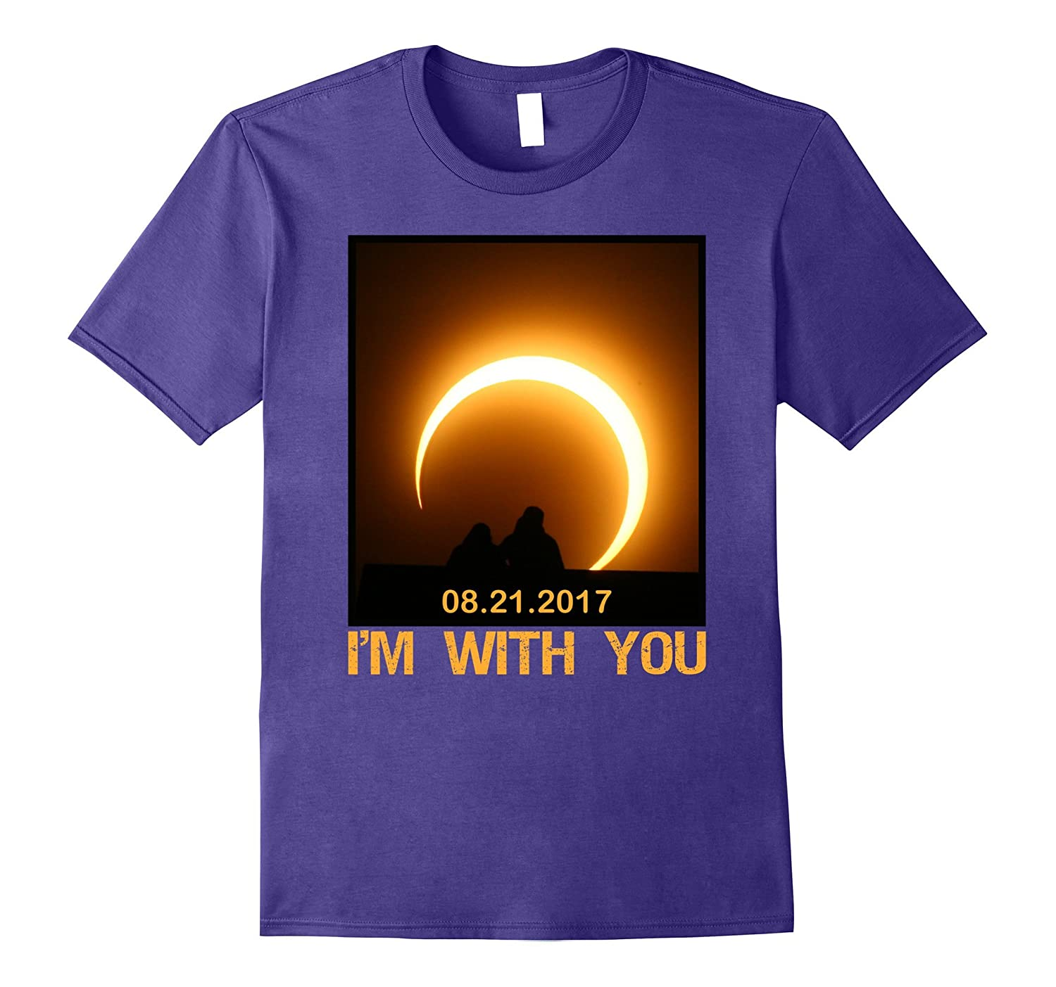 With You Total Solar Eclipse Summer August 21st 2017 T-Shirt-BN