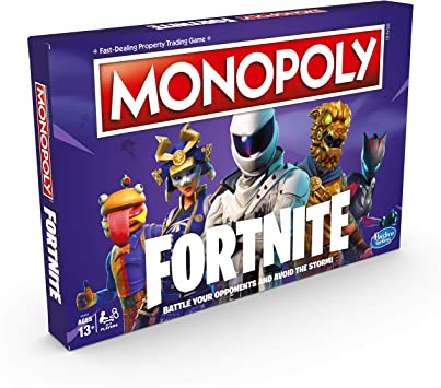 Monopoly Fortnite Video Game Characters Special Edition Board Game 2-7 Players