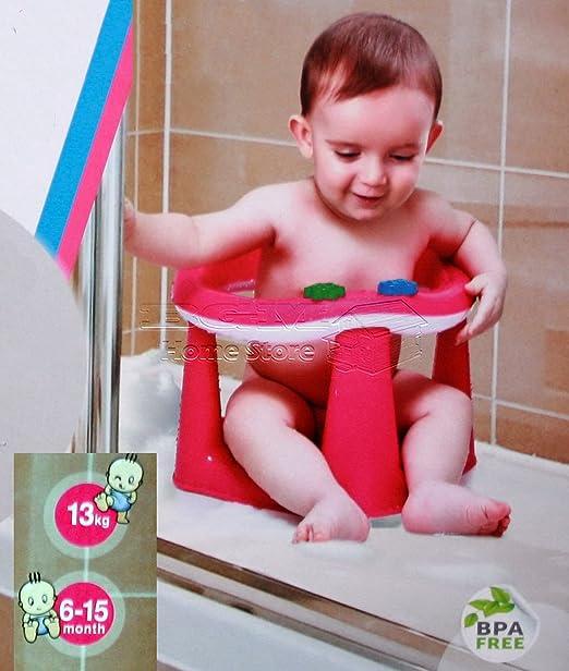 sicheres Baden BPA-frei Essen und Spielen 3-in-1-Baby-Badesitz