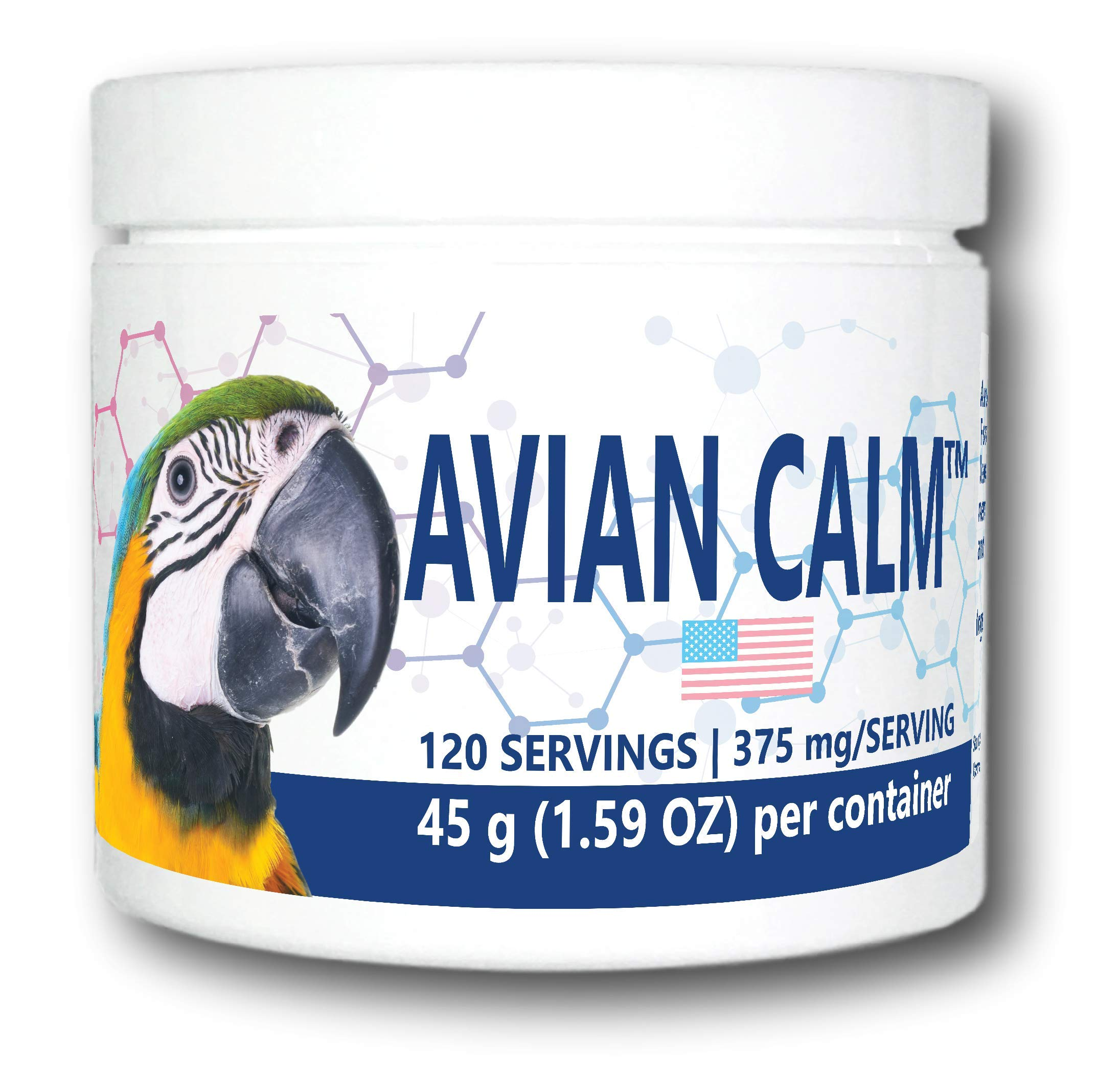 Equa Holistics, LLC. Avian Calm (120 Servings) by Equa Holistics, LLC.
