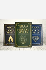 Wicca Spellbook Starter Kit: A Book of Candle, Crystal, and Herbal Spells Kindle Edition