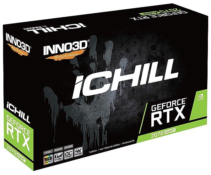 Inno 3D GeForce RTX 2070 Super iCHILL X3 Ultra - 8 GB GDDR6 - HDMI ...