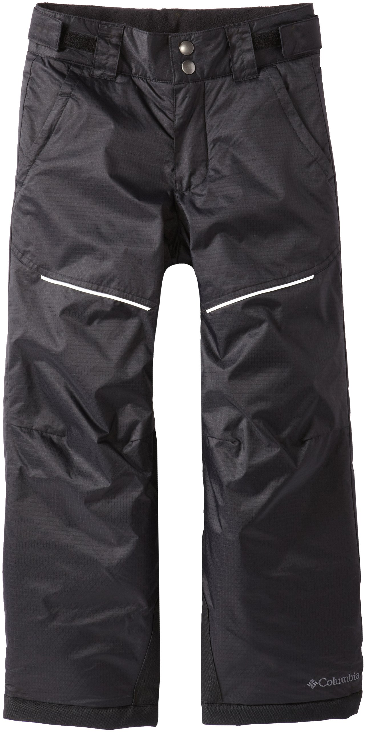 Columbia Little Girls'  Crushed Out II Pant, Black, X-Small