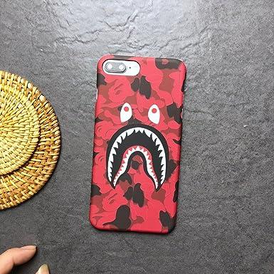 super popular dfe90 05d4c Bape A Bathing Ape iPhone Case (iPhone X, Red)
