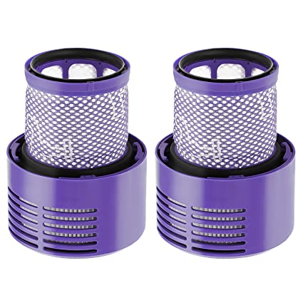 isinlive 2 Pack Vacuum Filter Replacement Compatible Dyson Cyclone V10  Absolute Animal Motorhead Total Clean, Replaces Part # 969082-01