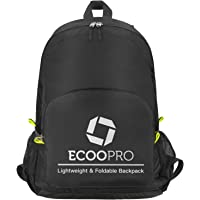 ECOOPRO 30L Durable Lightweight Travel Hiking Backpack (Black)
