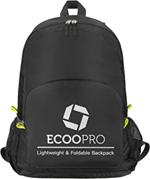 ECOOPRO 30L Durable Lightweight Travel Hiking Backpack