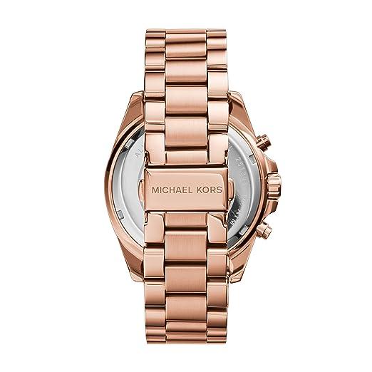 6fca55652 Amazon.com: Michael Kors Roman Numeral Watch MK5503 Rose Gold: Michael Kors:  Watches