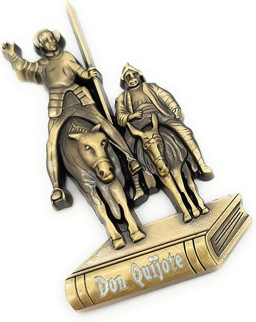 MovilCom® - iman Nevera| Figuras magneticas | imanes Nevera Personalizados de Don Quijote | diseño Exclusivo Recuerdo de España (Mod.001): Amazon.es: Hogar