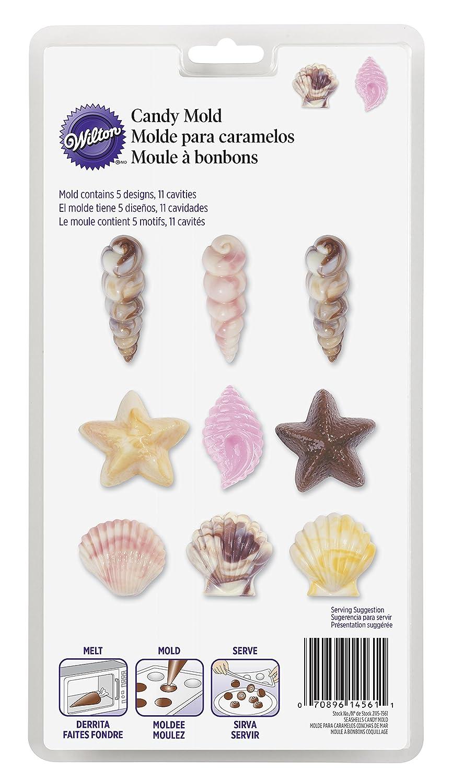 Wilton Moule à bonbons Thème coquillages 2115-1561