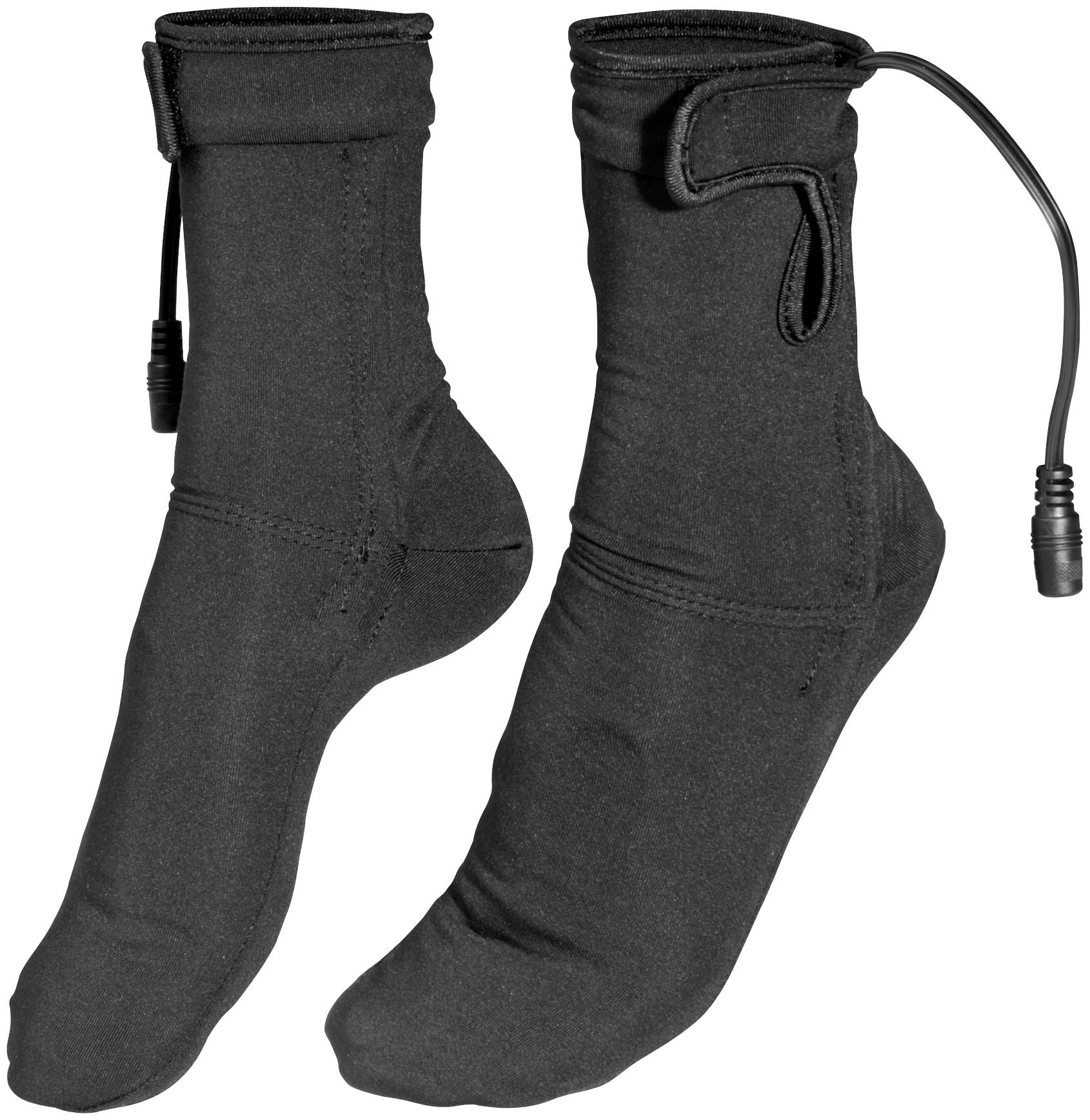 Firstgear Heated Socks (MEDIUM) (BLACK) for Motorcycle Riders