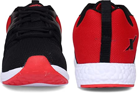 Buy Sparx Men's Black Red Running Shoes