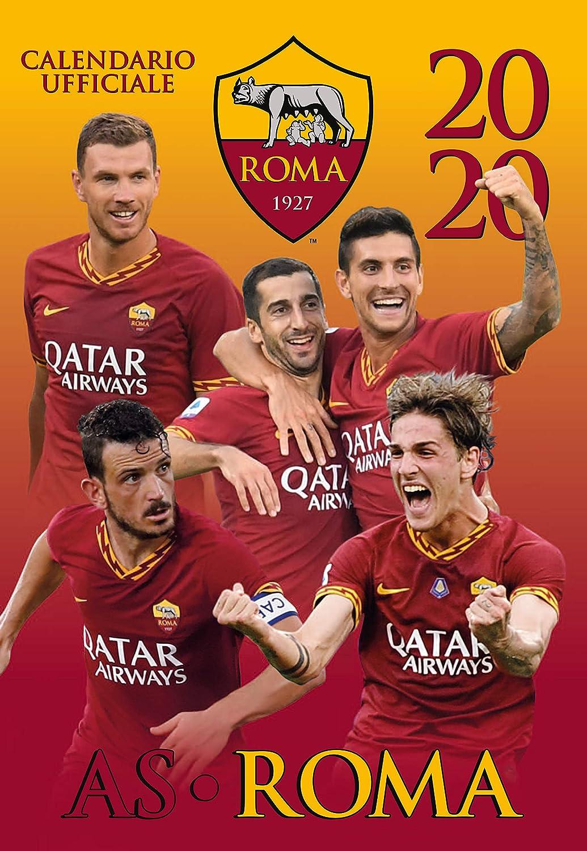 Official AS Roma 2020 calendar 29 x 42: Amazon.co.uk: Sports