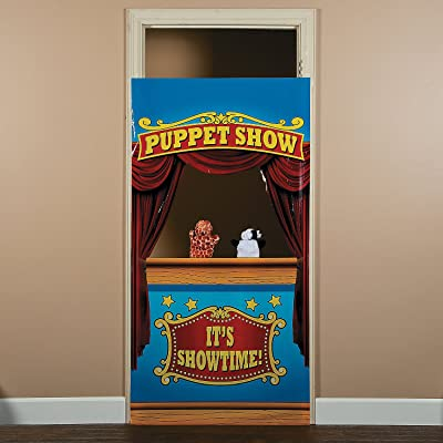 Puppet Show Door Banner - Create an Easy and Fun Puppet Show at Home: Toys & Games
