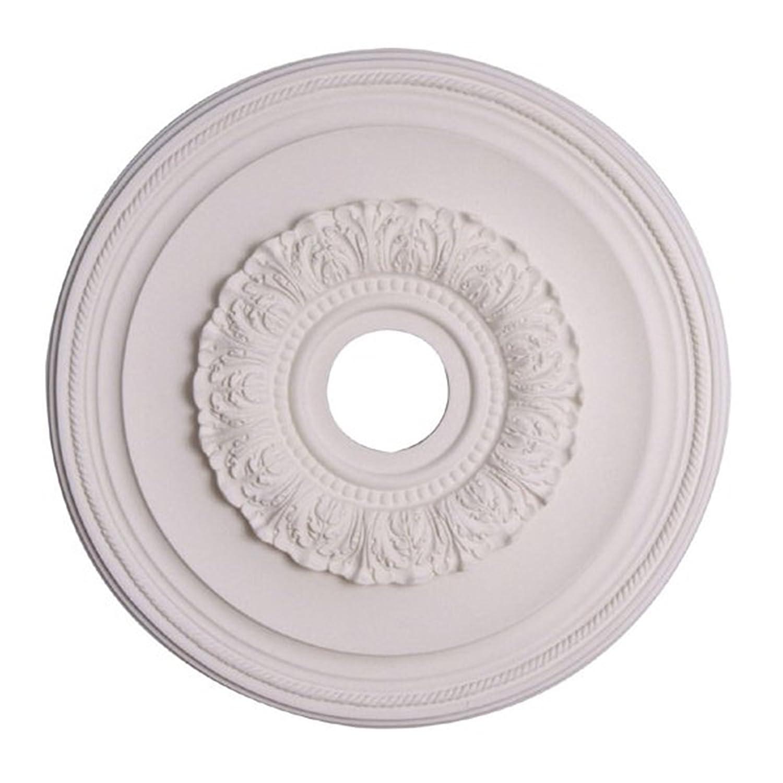 Capital Lighting 79481 Ansley 16-Inch Medallion, Paintable White ...