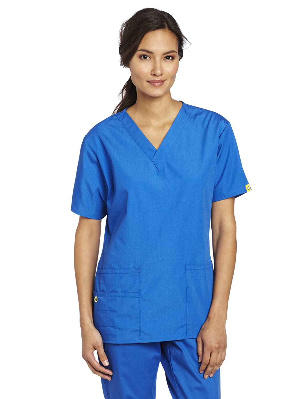 WonderWink Womens Scrubs 5 Pocket V Neck Image 1