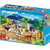 Playmobil - 4344 - Jeu de construction - Centre de soins animalier
