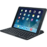 Logitech Ultrathin Magnetic Clip-on Keyboard Cover for iPad Air, Space Grey