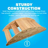 Constructive Playthings Wooden Rocking Boat for