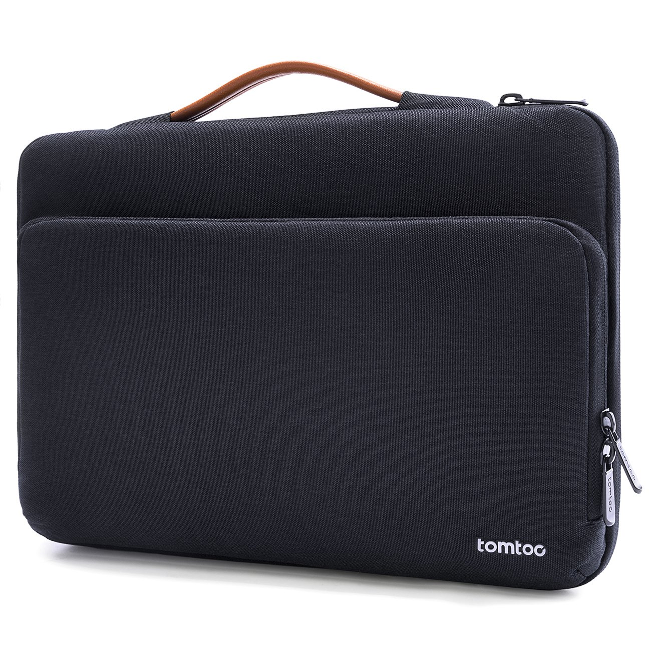tomtoc 360° Protective Laptop Sleeve Case Bag Fit for 15-15.6 Inch HP Dell Asus Acer ThinkPad Samsung Laptop Chromebook Notebook Tablet, with Handle Accessory Pocket and CornerArmor