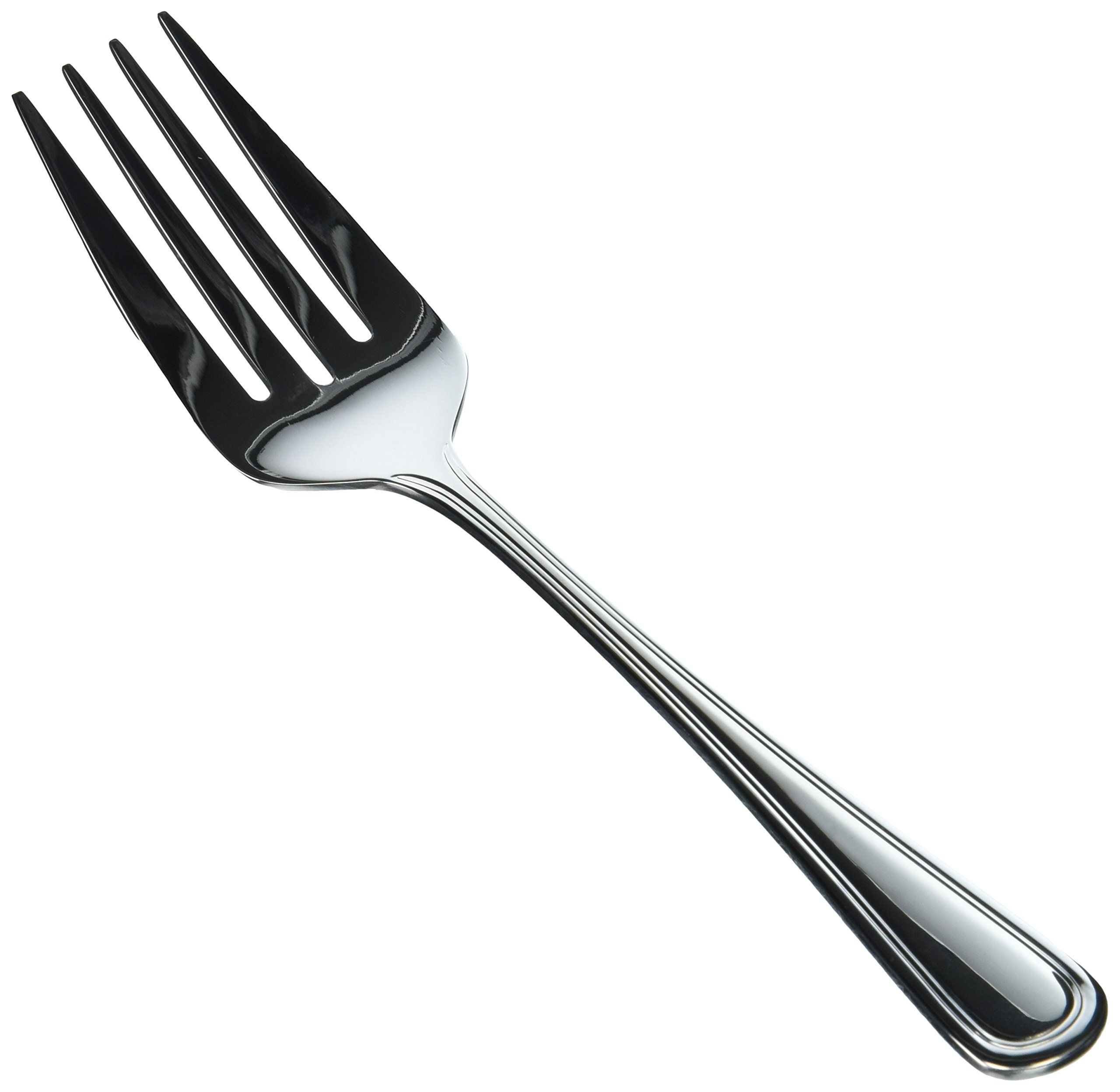 Winco Shangarila 12-Piece Cold Meat Serving Fork Set, Large, 18-8 Stainless Steel by Winco