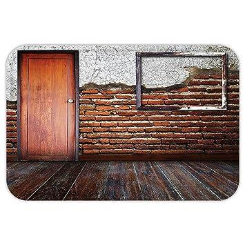 kisscase Custom puerta matantique Decor marco de fotos sala de poner en un muro de ladrillo