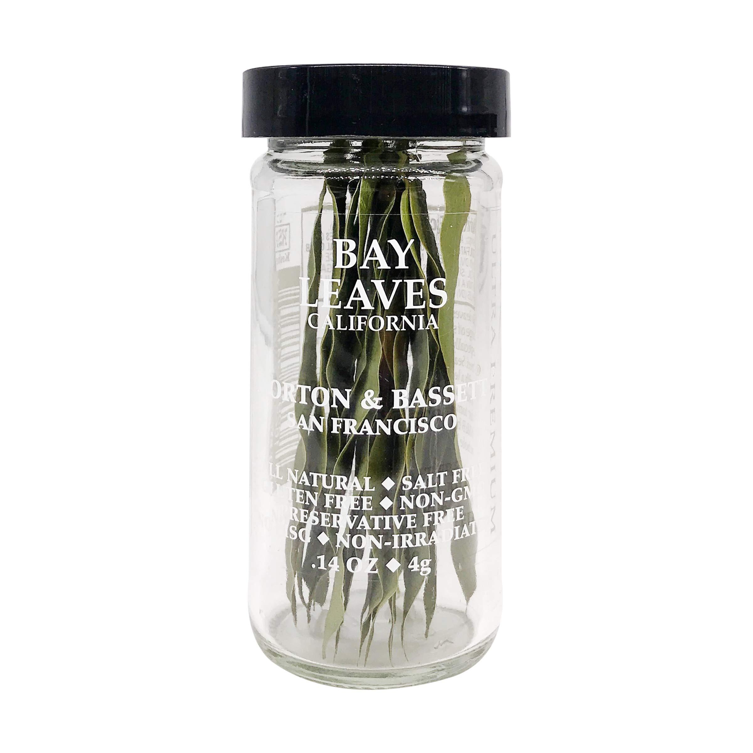 Morton & Bassett Bay Leaves, .14-Ounce jar
