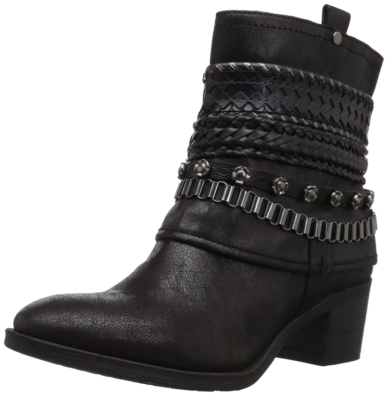 Carlos by Carlos Santana Women's Cole Ankle Boot B06XJ78MFF 7 M M US|Black