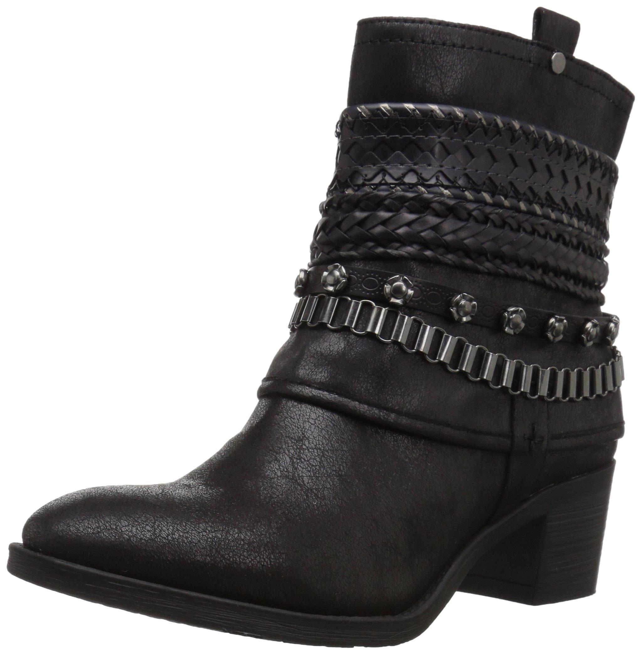Carlos by Carlos Santana Women's Cole Ankle Boot, Black, 6 M M US