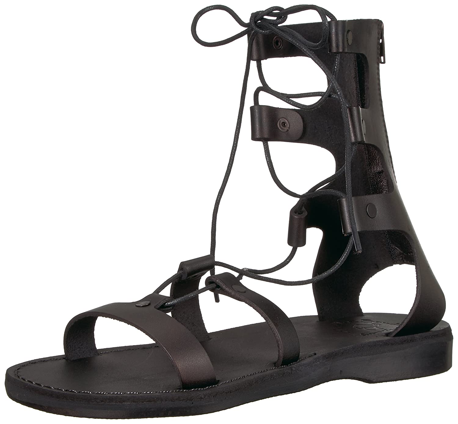Jerusalem Sandals Women's Rebecca Sandal B075KZD34J 36 Medium EU (5-5.5 US)|Black