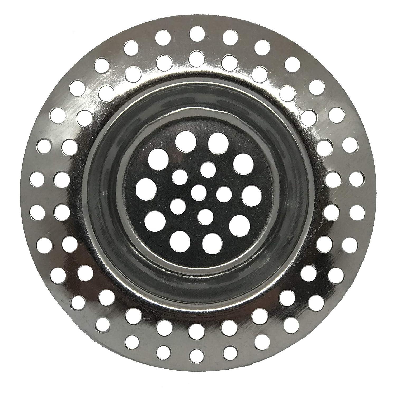 OSS K/üchenbedarf Abfluss-Sieb 4er-Set 4 St/ück Metall-Abflusssieb 11 g Gewicht 11 g Abflusssiebe Waschbecken-Sieb Ausguss-Filter rostfreier Edelstahl