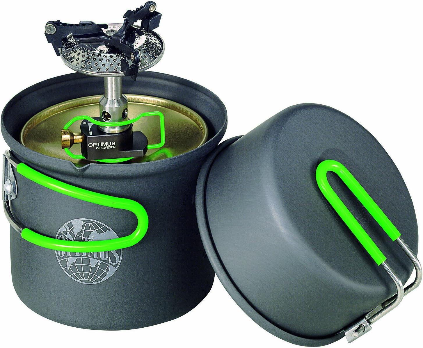 Optimus Crux Lite - Hornillo de Gas con Accesorio para ...