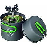 Optimus Crux Lite - Hornillo de gas con accesorio para cocinar Terra Solo (0,6 L)