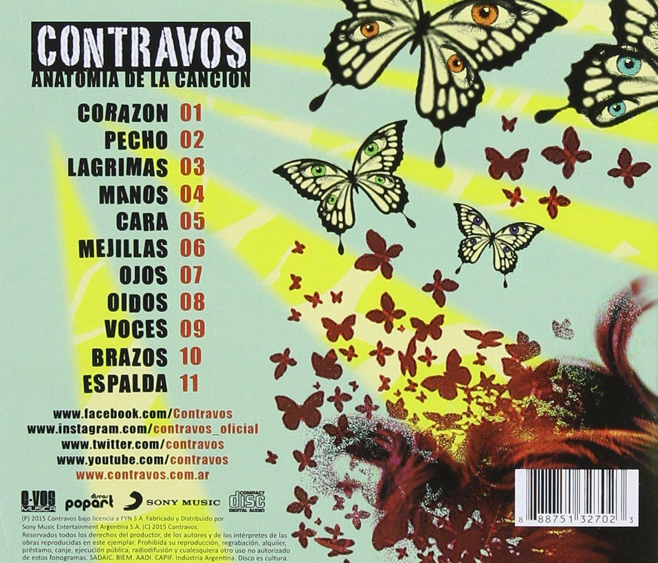 Anatomia de la Cancion: Contravos: Amazon.es: Música