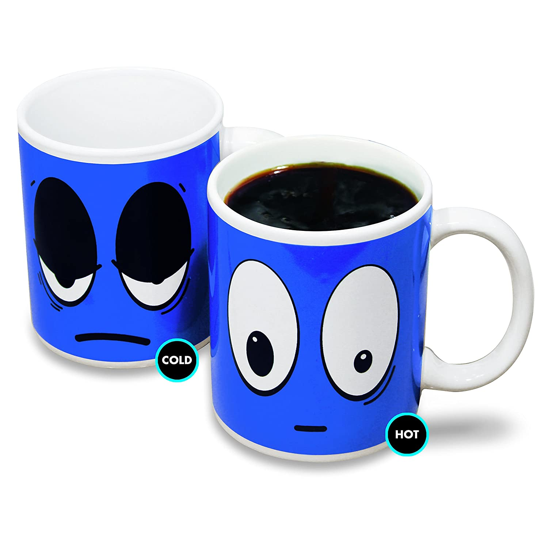 Paladone Tired to Wired Heat Change Mug, Multi-Colour: Amazon.co.uk ...