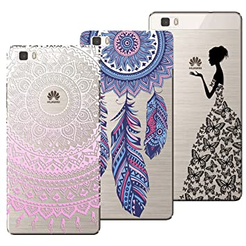 coque huawei p8 lite 2016 silicone motifs